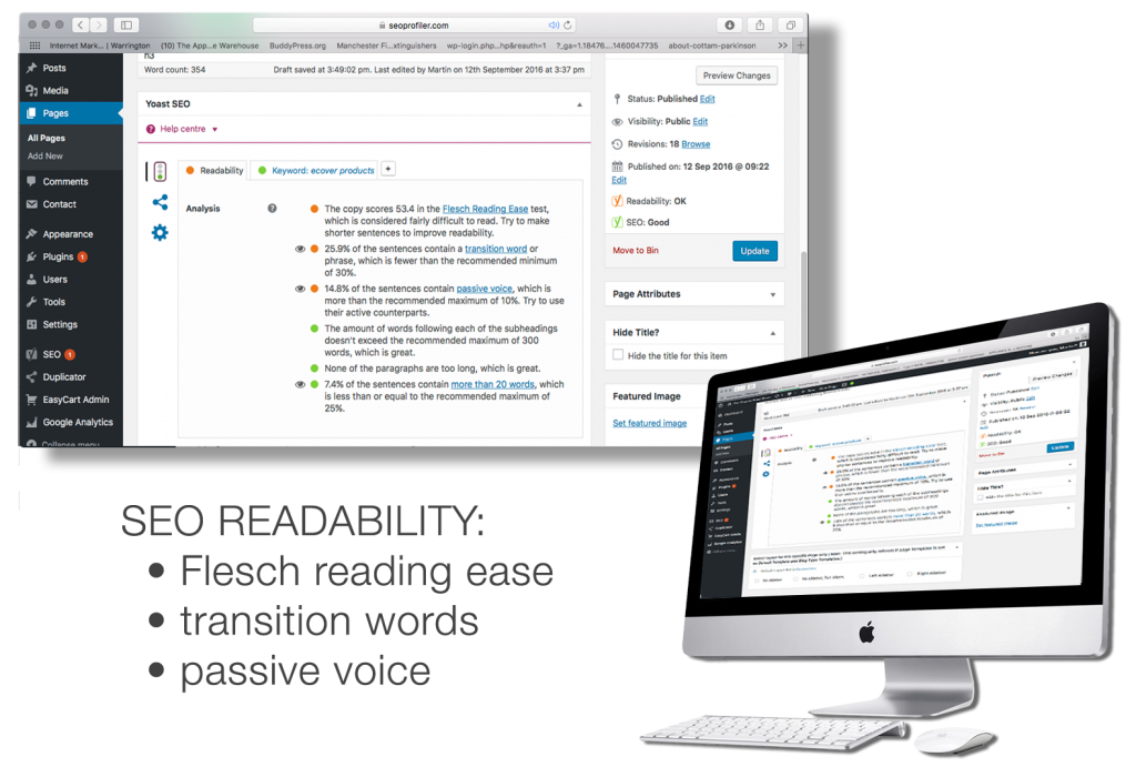 Google and READABILITY