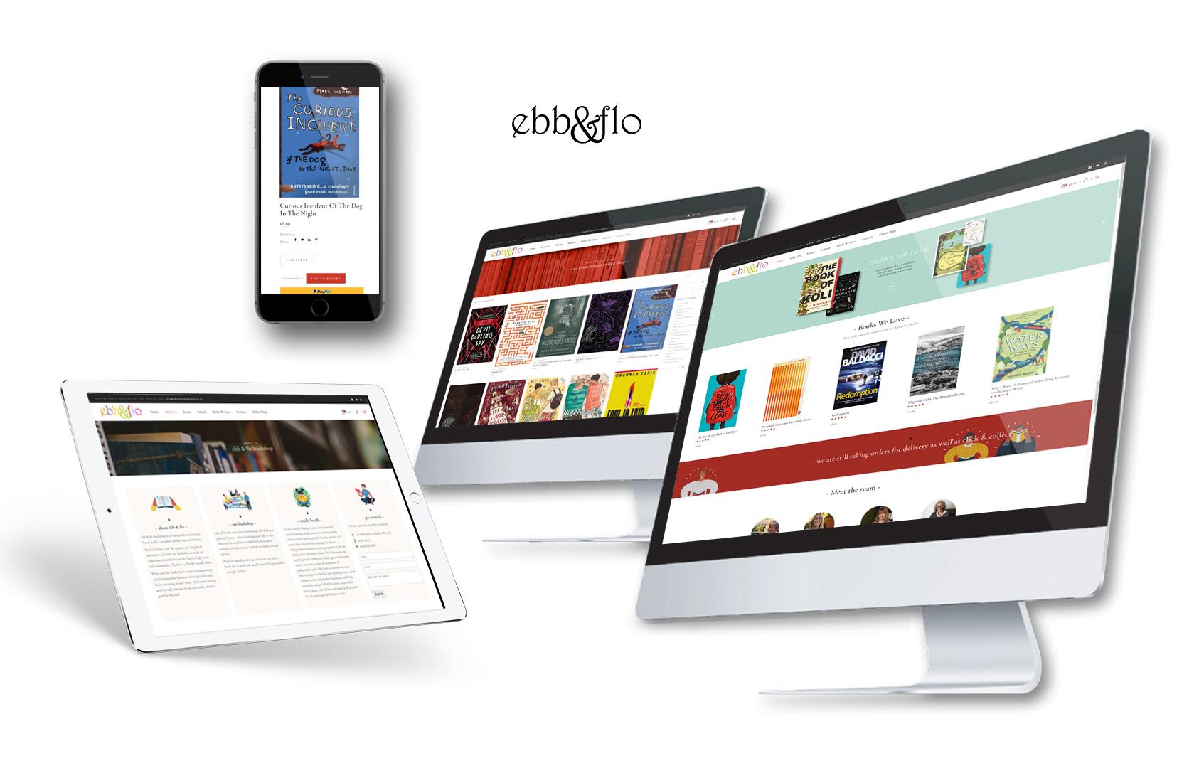 bookshop website design